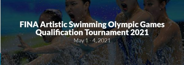 Nado Artístico - Fina marca nova data para Pré-Olímpico de Nado Artístico