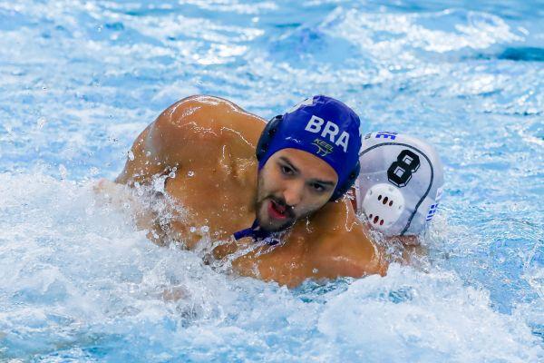 Pólo Aquático - Brasil perde para Montenegro pela terceira rodada do Pré-Olímpico