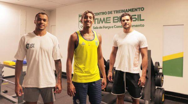 Natação - Velocistas brasileiros se preparam para a Seletiva Olímpica de natação no CT Time Brasil