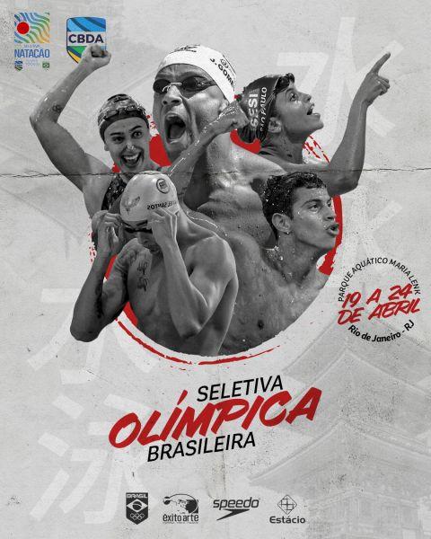 Seletiva Olímpica começa nesta segunda para definir Time de Natação do Brasil para Tóquio 2020