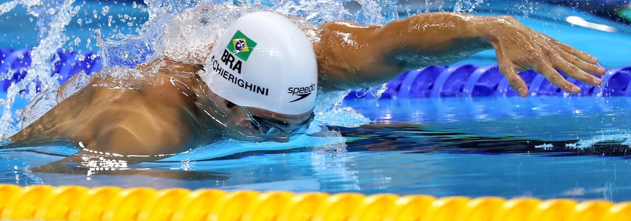 Chierighini briga por vaga na final dos 100m livre