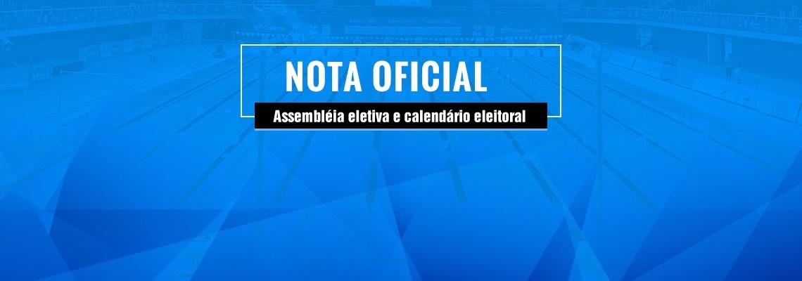 Assembléia Geral Ordinária  - Eletiva e Calendário Eleitoral