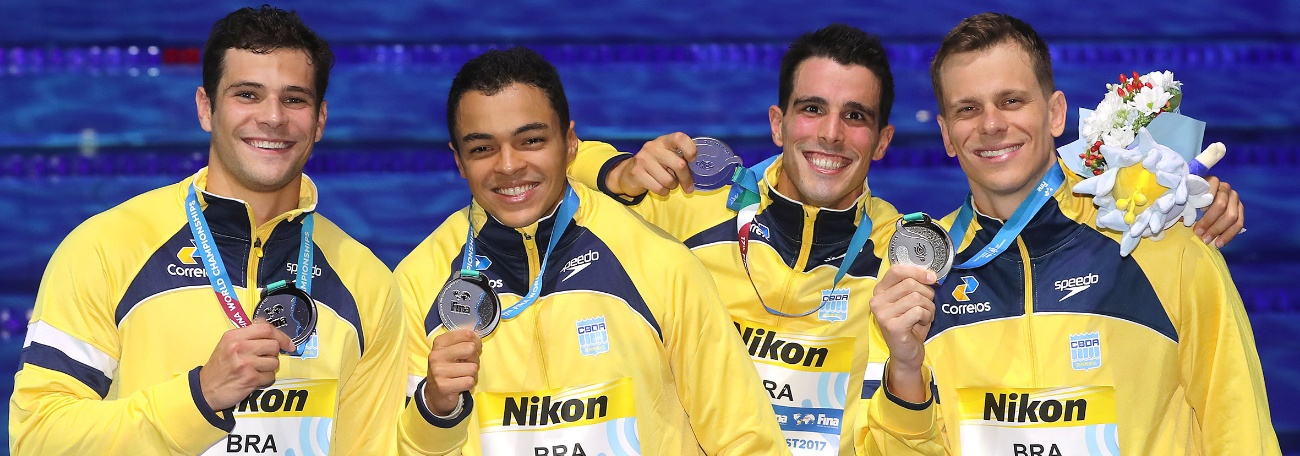 A 33ª medalha mundial da natação brasileira