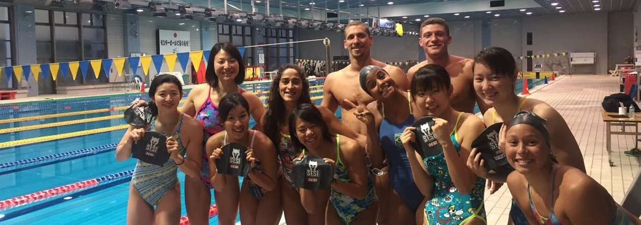 Com Etiene Medeiros, brasileiros disputam etapa de Tóquio da Copa do Mundo de natação