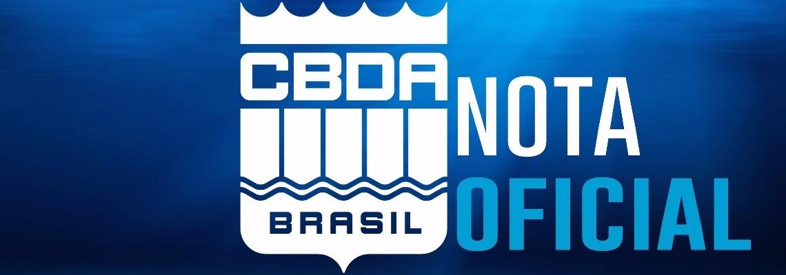 Nota oficial - Eleições da CBDA