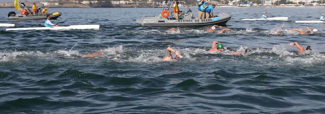 Com percurso olímpico, prova de maratona aquática estreia no Troféu Brasil – Maria Lenk