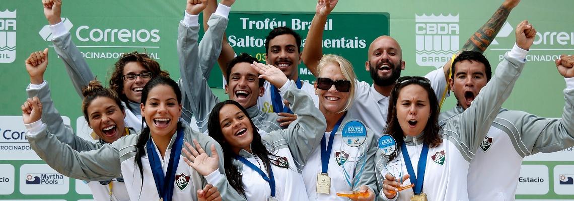 Fluminense é unodecacampeão do Troféu Brasil de Saltos Ornamentais