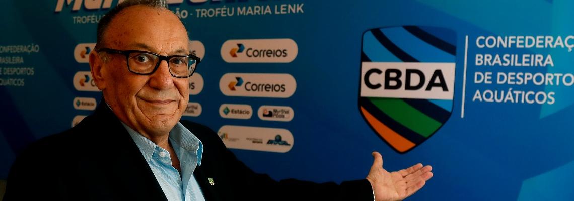 Em cerimônia no Rio de Janeiro, CBDA lança nova logomarca