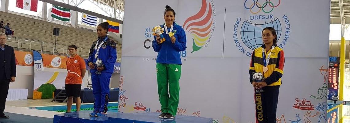 Ingrid Oliveira conquista o ouro nos Jogos Sul-Americanos de Cochabamba