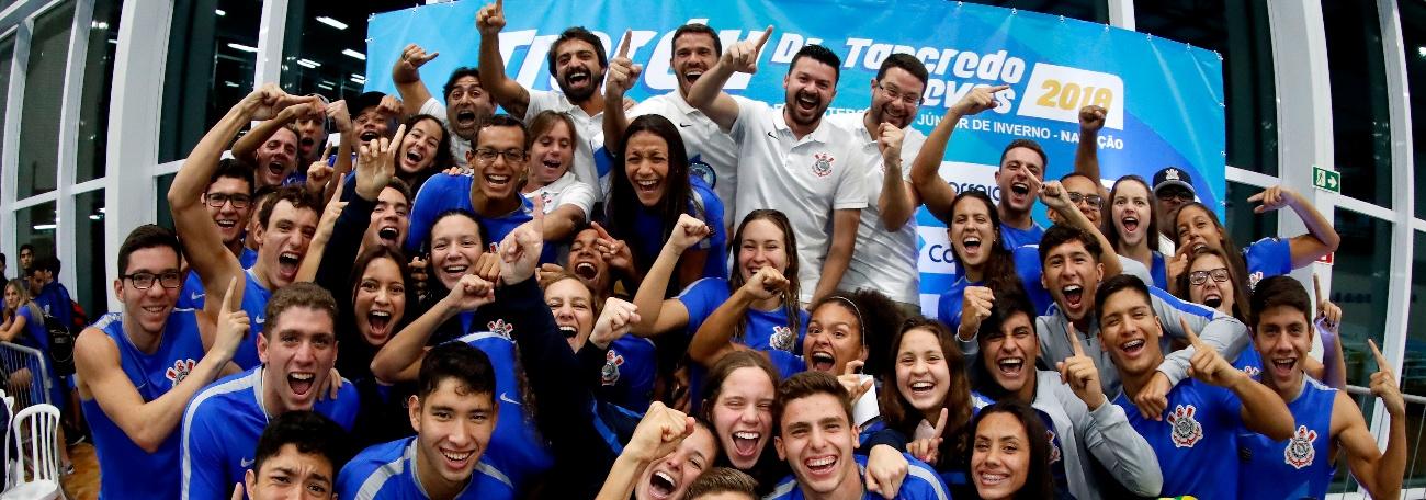Corinthians é Campeão Brasileiro Interclubes Júnior de Natação