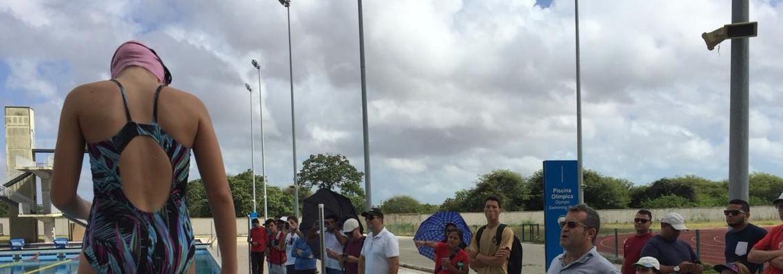Com recorde de participantes, Clínica CBDA/FINA é realizada em Fortaleza