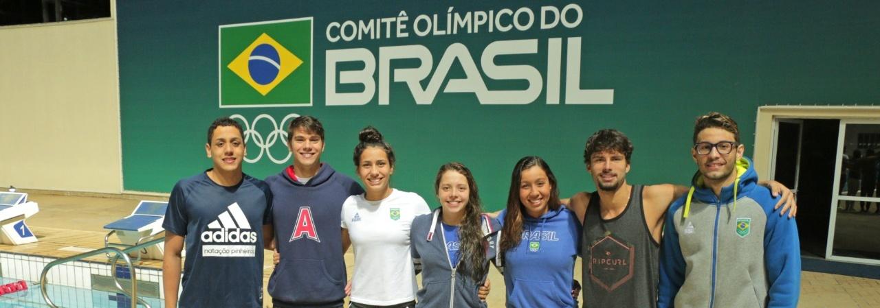 Atletas de Natação e Saltos Ornamentais disputam Jogos Olímpicos da Juventude