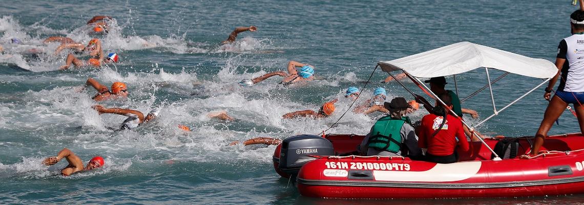 Maceió recebe 6ª etapa do Campeonato Brasileiro e Copa Brasil de Maratonas Aquáticas