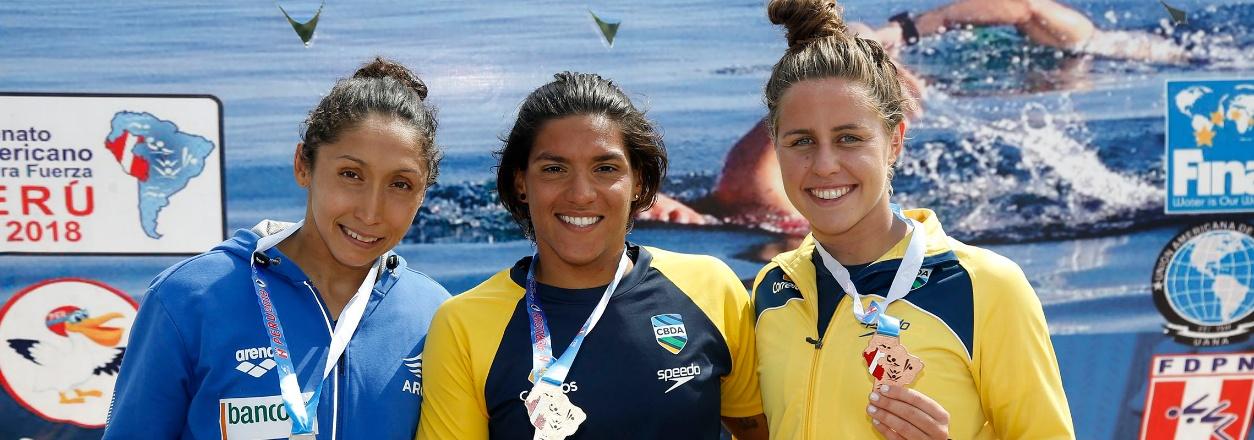 Brasil obtém as quatro vagas para os Jogos Pan-Americanos na Maratona Aquática