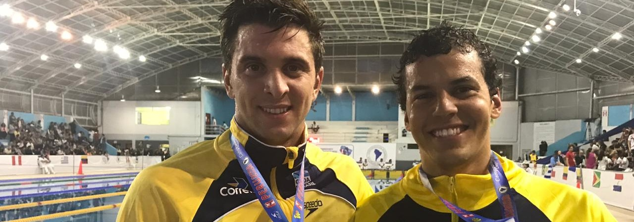 Natação do Brasil conquista mais nove medalhas no Campeonato Sul-Americano