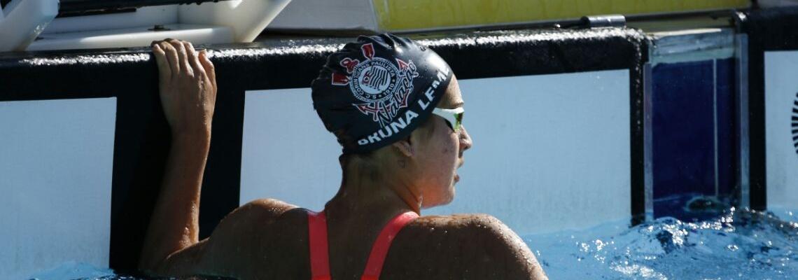 Bruna Monteiro Leme quebra o recorde dos 200m peito na categoria júnior 1 no Troféu Júlio de Lamare