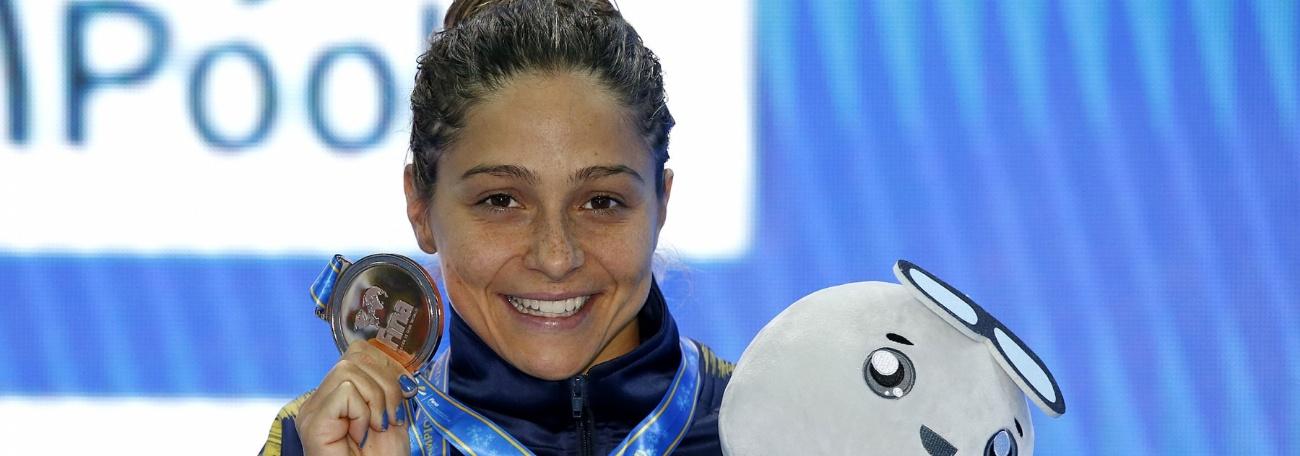 Natação - Daiene, Etiene e Felipe Lima conquistam bronzes, e Brasil termina Mundial no Top-10
