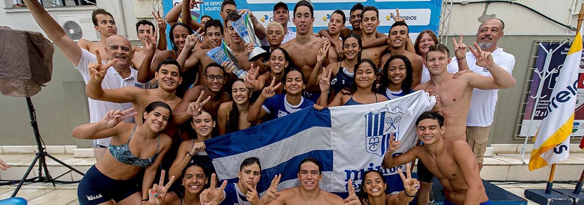 Natação - Minas Tênis Clube é Campeão Brasileiro Juvenil - Troféu Carlos Campos Sobrinho 2018