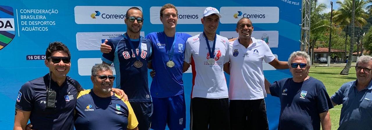 Maratona Aquática seleciona atletas que buscarão vagas nos Jogos Olímpicos