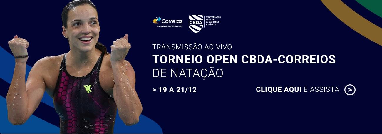 Torneio Open CBDA-Correios - Transmissão ao vivo