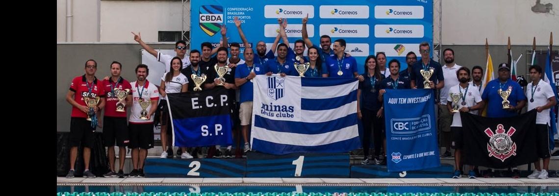 Natação - Minas Tênis Clube é Campeão do Torneio Open CBDA-CORREIOS de natação 2018