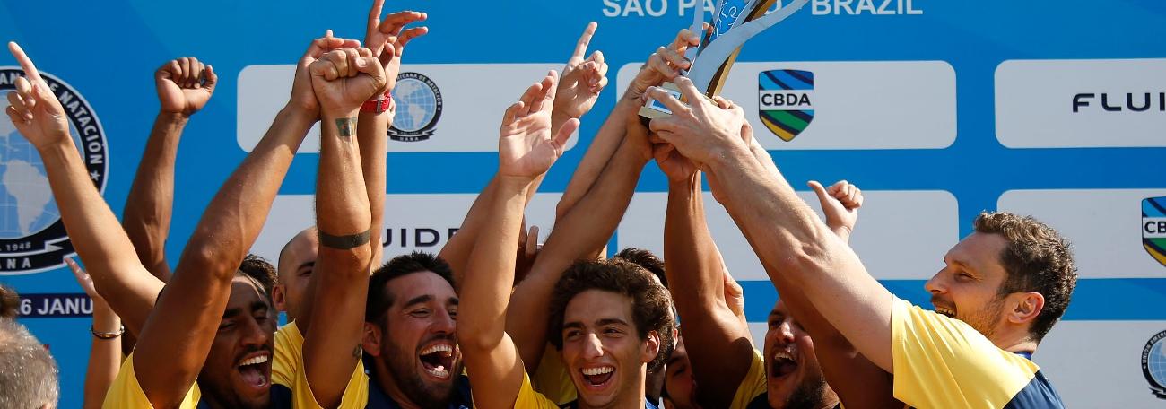 Canadá e Brasil são campeões da Copa Uana de Pólo Aquático