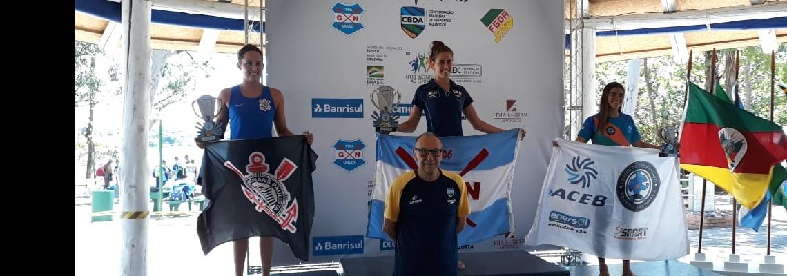 Maratonas Aquáticas - Viviane Jungblut e Alexandre Finco vencem prova de 10km do Campeonato Brasileiro; seleção juvenil é definida