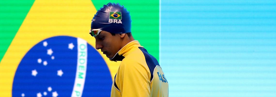 Breno Correia vence os 200m livre no TYR Pro Swim Series