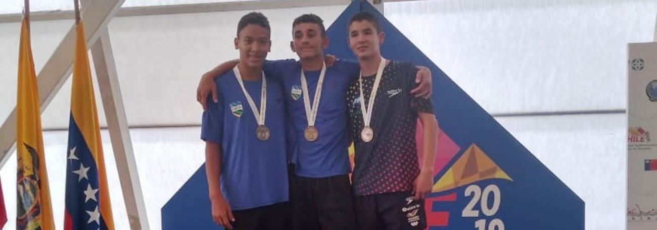 Brasil conquista mais oito medalhas no Campeonato Sul-Americano Juvenil