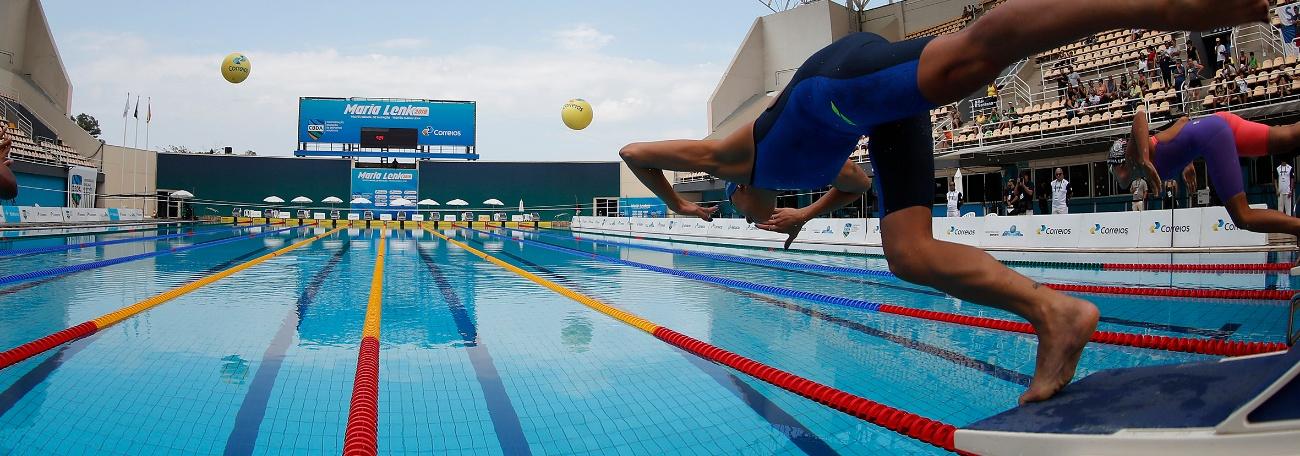 Seletiva para três competições, Troféu Brasil Maria Lenk reúne melhores nadadores do Brasil
