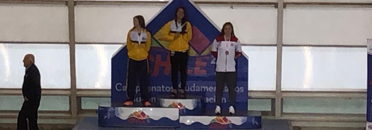 Natação conquista mais 27 medalhas no penúltimo dia de Sul-Americano Juvenil