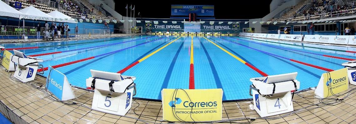 Troféu Brasil Maria Lenk - Estacionamento