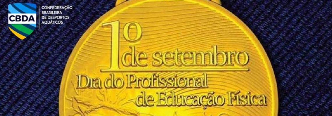 PARABÉNS AO PROFISSIONAL DA EDUCAÇÃO FÍSICA