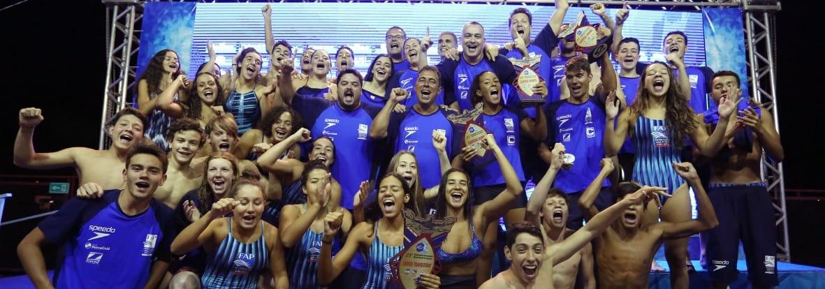 Natação - São Paulo conquista o 26º título do Troféu Chico Piscina