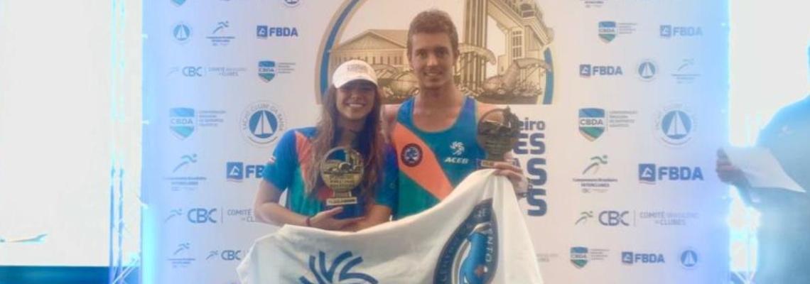 Aricia Peree e Thiago Oliveira vencem Brasileiro Interclubes - Copa CBC