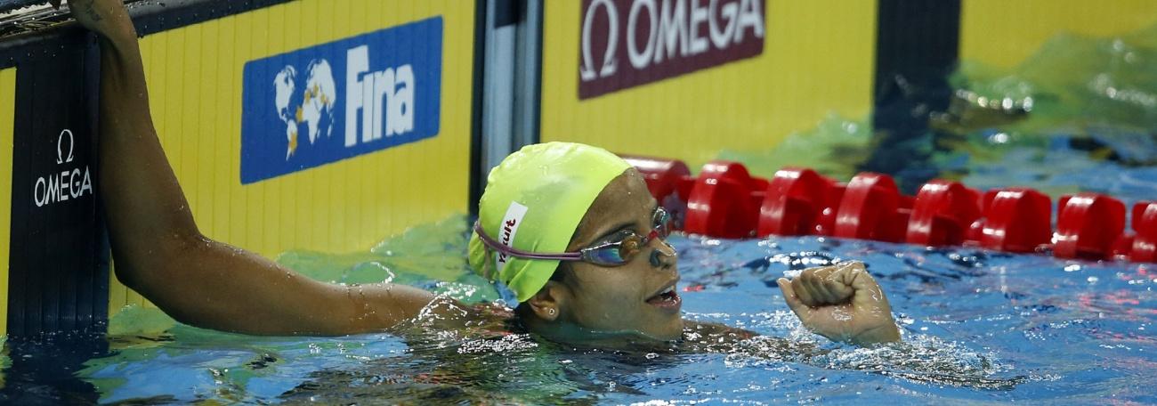 Etiene Medeiros conquista o bronze no primeiro dia da etapa de Kazan da Copa do Mundo