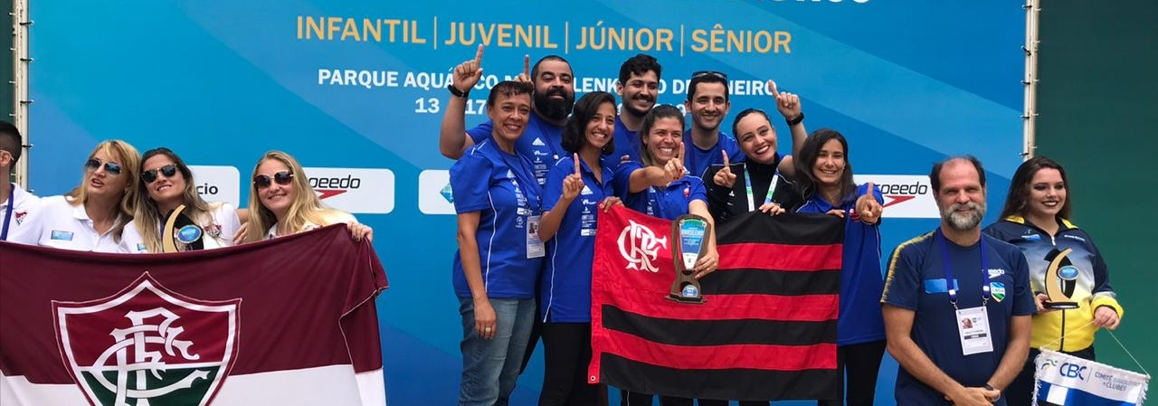 Nado Sincronizado - Flamengo e Paineiras levam títulos por categoria no Campeonato Brasileiro Interclubes de Nado Artístico