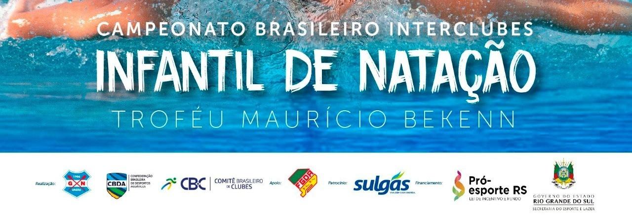 CBDA - Assista ao Campeonato Brasileiro interclubes infantil de natação de verão