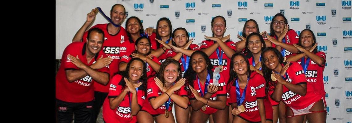 SESI-SP vence Paineiras no feminino e conquista título do Brasileiro Interclubes sub-18