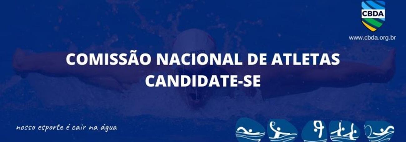 Aberto o período de candidatura para eleição da Comissão Nacional de Atletas