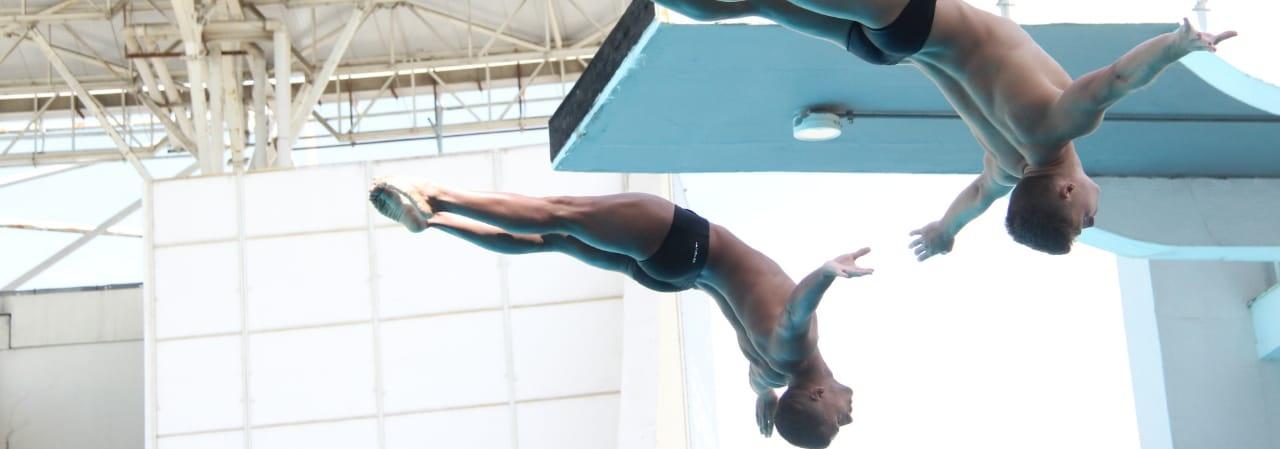 Saltos Ornamentais - Provas sincronizadas definem campeões na Taça Brasil de Saltos Ornamentais