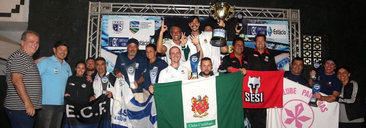 Natação - Clube Curitibano é o campeão geral do Campeonato Brasileiro Interclubes Juvenil de Natação