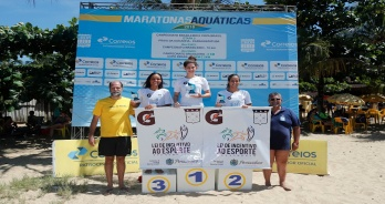 Bruno Yamamoto e Giovanna Araújo vencem a Copa Brasil, em Caraguatatuba