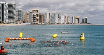 Colonese e Lorscheitter vencem o Campeonato Brasileiro de Maratonas Aquáticas em Fortaleza