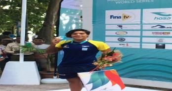 Ana Marcela Cunha conquista a prata na etapa de Seicheles do Fina Marathon Swim World Series