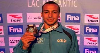 Fernando Ponte conquista o bronze em etapa do Fina Marathon Swim World Series