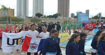 Vila Parahyba e UTFPR são campeões gerais no nível A do Brasileiro de Nado Artístico