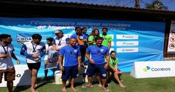 Círculo Militar vence 1º Campeonato Nacional de Maratonas Aquáticas em revezamento