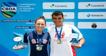 Victor Colonese e Bettina Lorscheitter vencem em Inema e conquistam o título do Campeonato Brasileiro de 10 km de 2018