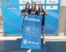 Natação - Nadando em casa Grêmio Náutico União faz pódio completo nos 800m livre feminino categoria Juvenil 1, e atletas do Curitibano batem recordes brasileiro